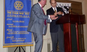 John Shields Inducted as New President of Rotary Club of Mobile – Sunrise
