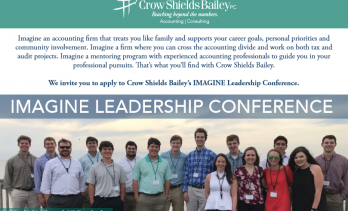 Crow Shields Bailey Announces 2018 IMAGINE Leadership Conference